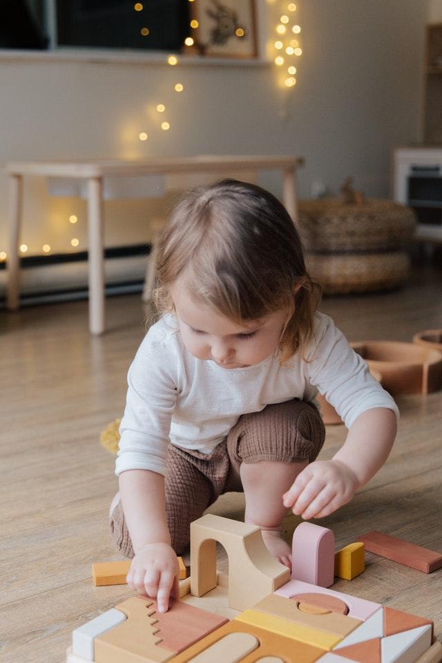 Utvecklande spel för små barn
